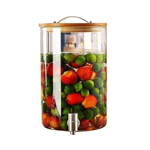 Mena UK Cubo De Vidrio Transparente For El Hogar De Bebidas Frías ...