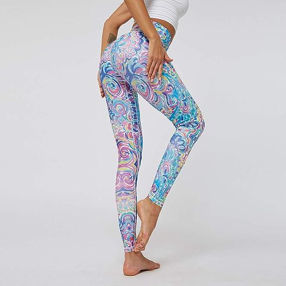 cinnamou Pantalones Mujer, Pantalones Deportivos, Pantalon Yoga ...