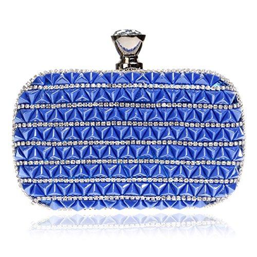 bleu Flada moyen multicolore coloré pour Pochette femme 7qYrU7w