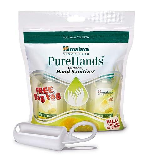 Buy Himalaya Pure Hand Sanitizers 30 Ml 3 Count Lemon Online
