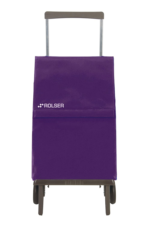 Rolser PLE047 Plegamatic - Carro de Compra (Bolsa Modelo Original/MF), Color Gris: Amazon.es: Hogar