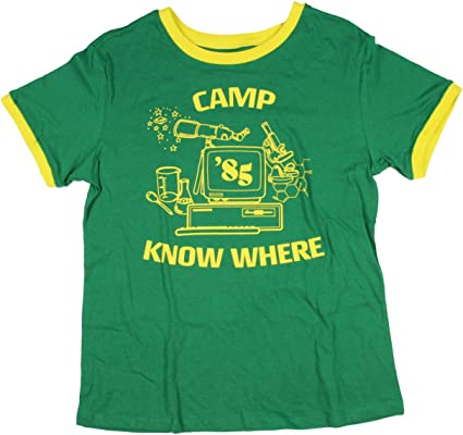 Seven Times Six Extraño Cosas Juniors Dustin Costume Camp ...