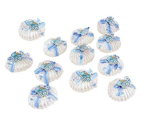 Qilicz - Caja de regalo de conchas para bautizos, bebés ...