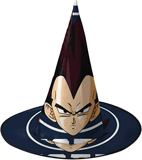 NUJIFGYTCRD Dragon Ball Z Team Vegeta Sombrero de Bruja Unisex ...