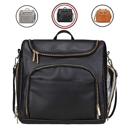 Diaper Bag Backpack Mominside Diaper Bag Tote Leather Large Tote Baby Bag