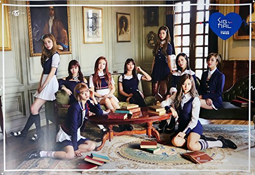 JYP Entertainment TWICE - SIGNAL (4th Mini Album) [A ver.] OFFICIAL POSTER with Tube Case 30 x 20.5 inches