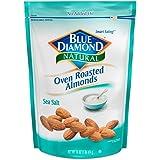 Blue Diamond Oven Roasted Almonds,  Sea Salt, 16 Ounce