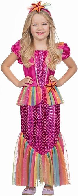 Rubies - Disfraz de Sirena para niña: Amazon.es: Juguetes y juegos