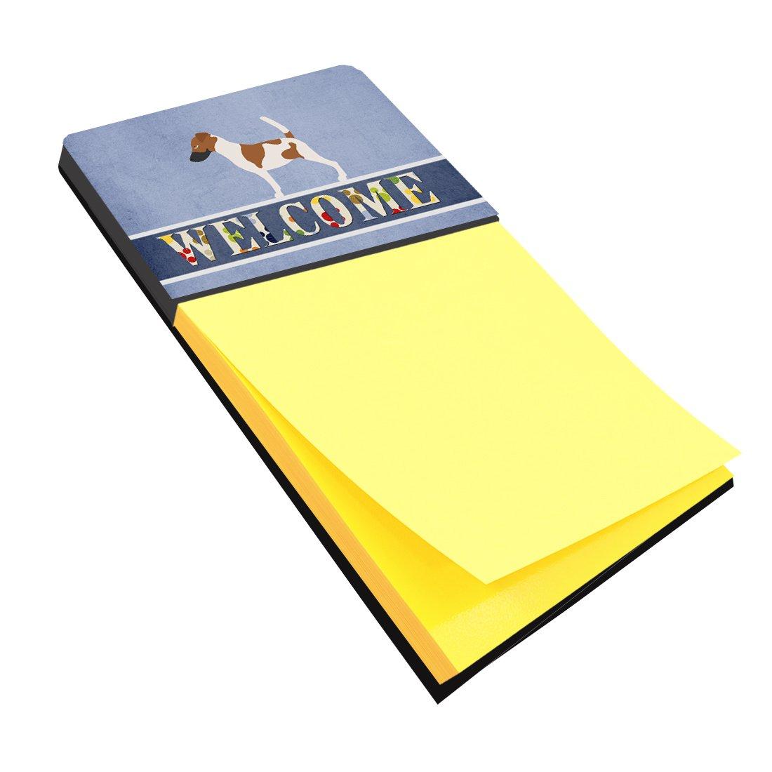 Multicolor BB8279SN Carolines Treasures Desk Artwork Notepad Holder