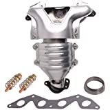 Catalytic Converter 1.7L Exhaust Manifold 673-608 & 674-608 For Honda Civic 01-05 DX LX CX L4 SOHC REPH960325