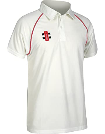 935aa21c Gray-Nicolls Childrens/Kids Matrix Short Sleeve Cricket Shirt