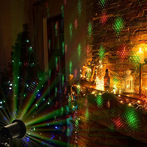InnooLight Laser Christmas Lights Show Red And Green IP65