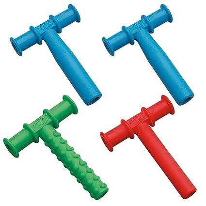 Chewy Tubos Mordedor, 4 unidades - azul/verde/rojo con brazo y ...