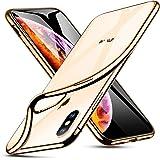 ESR iPhone Xs Max対応 スマホケース(メッキ・ゴールド) 4894240071861