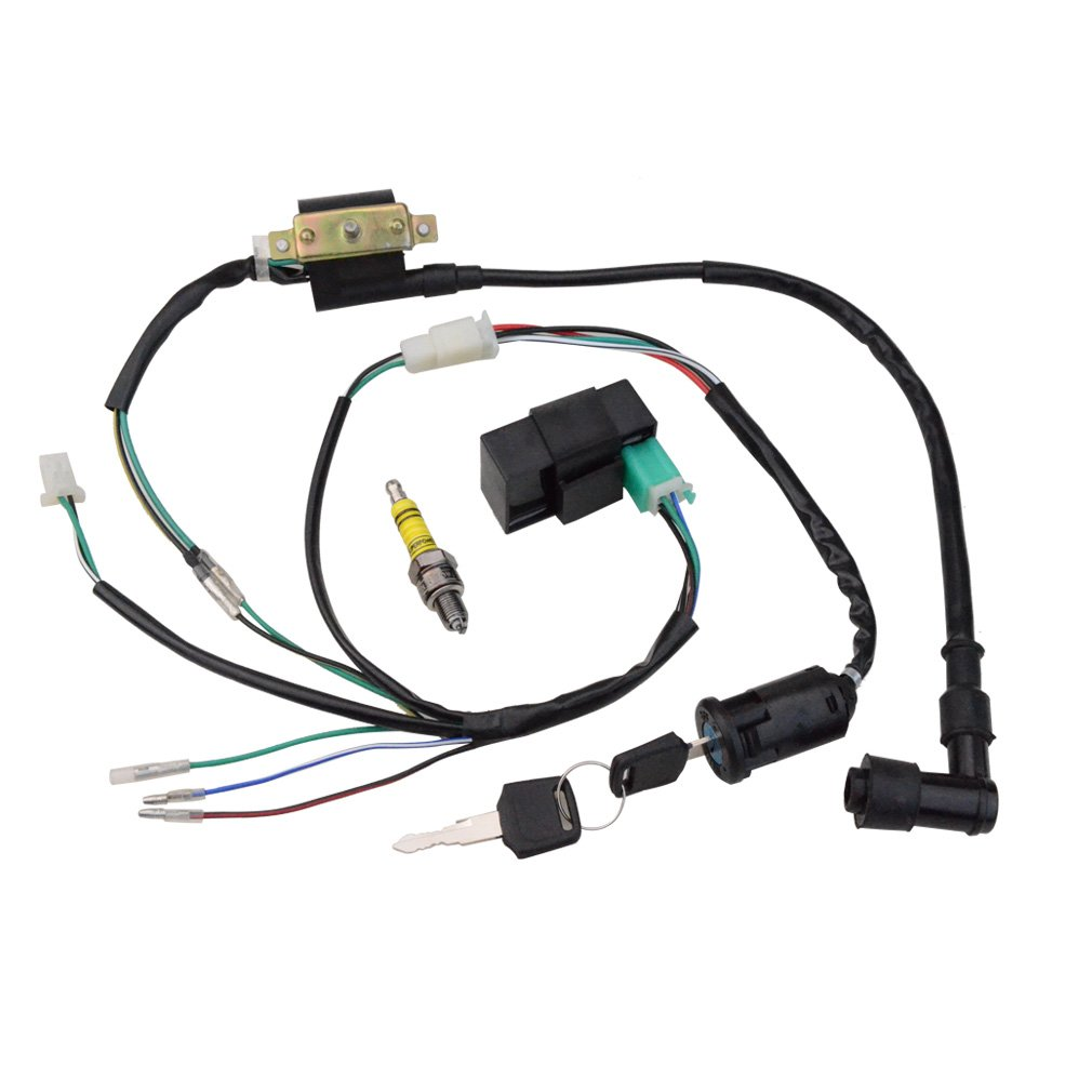 Tao Tao 110cc Atv Parts Wiring Harness Wiring Diagram Wiring