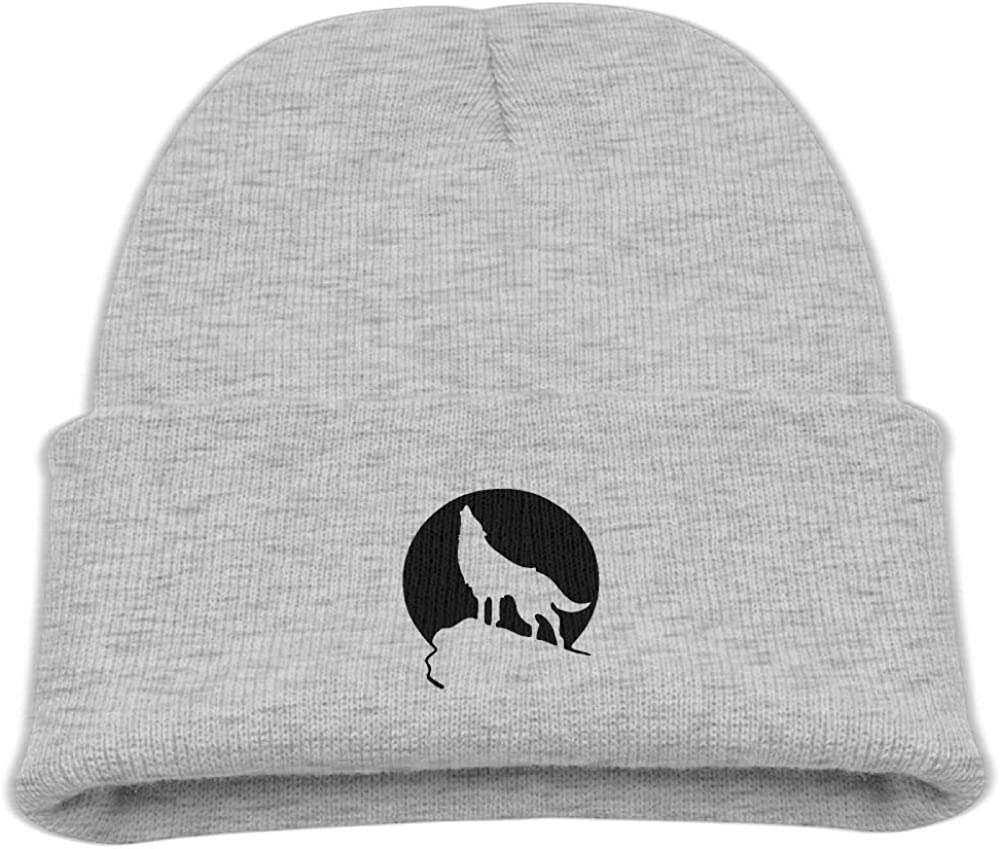 Banana King Howling Wolf Moon Baby Beanie Hat Toddler Knit Cap