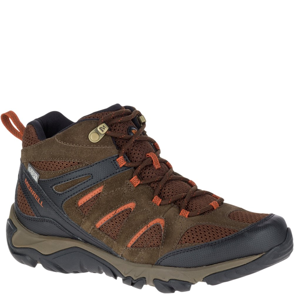 626ae2722b Merrell Men's Outmost Mid Vent Waterproof Hiking Boot