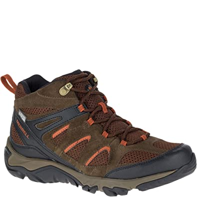 0943b4c888 Amazon.com | Merrell Men's Outmost Mid Vent Waterproof Hiking Boot | Hiking  Boots