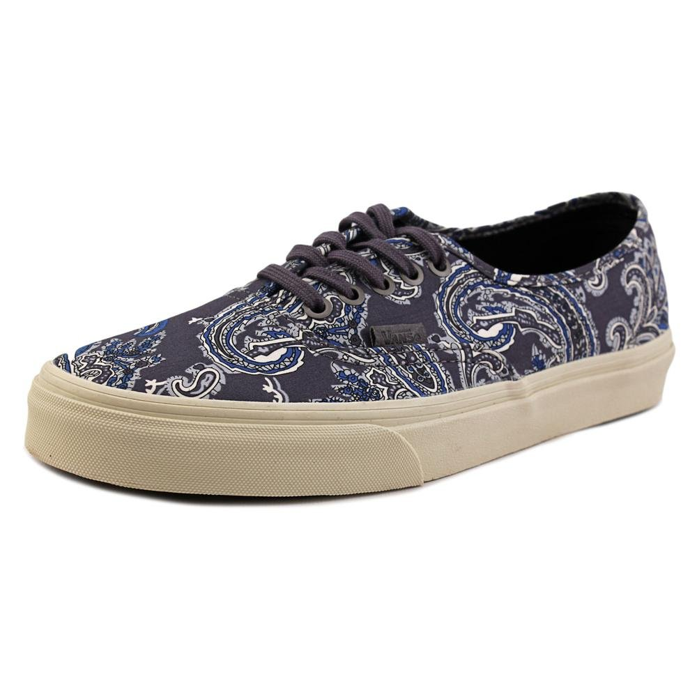 Vans Mens Authentic Low Top Lace Up Canvas Skateboarding Shoes B016N4MAP4 9.5 D(M) US gray / charcoal