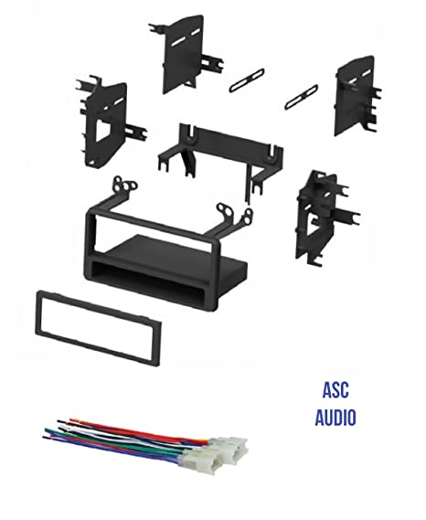 Amazon.com: ASC Car Stereo Dash Kit and Wire Harness for some Toyota on toyota corolla wiring harness, toyota tundra wiring harness, toyota pickup wiring harness,