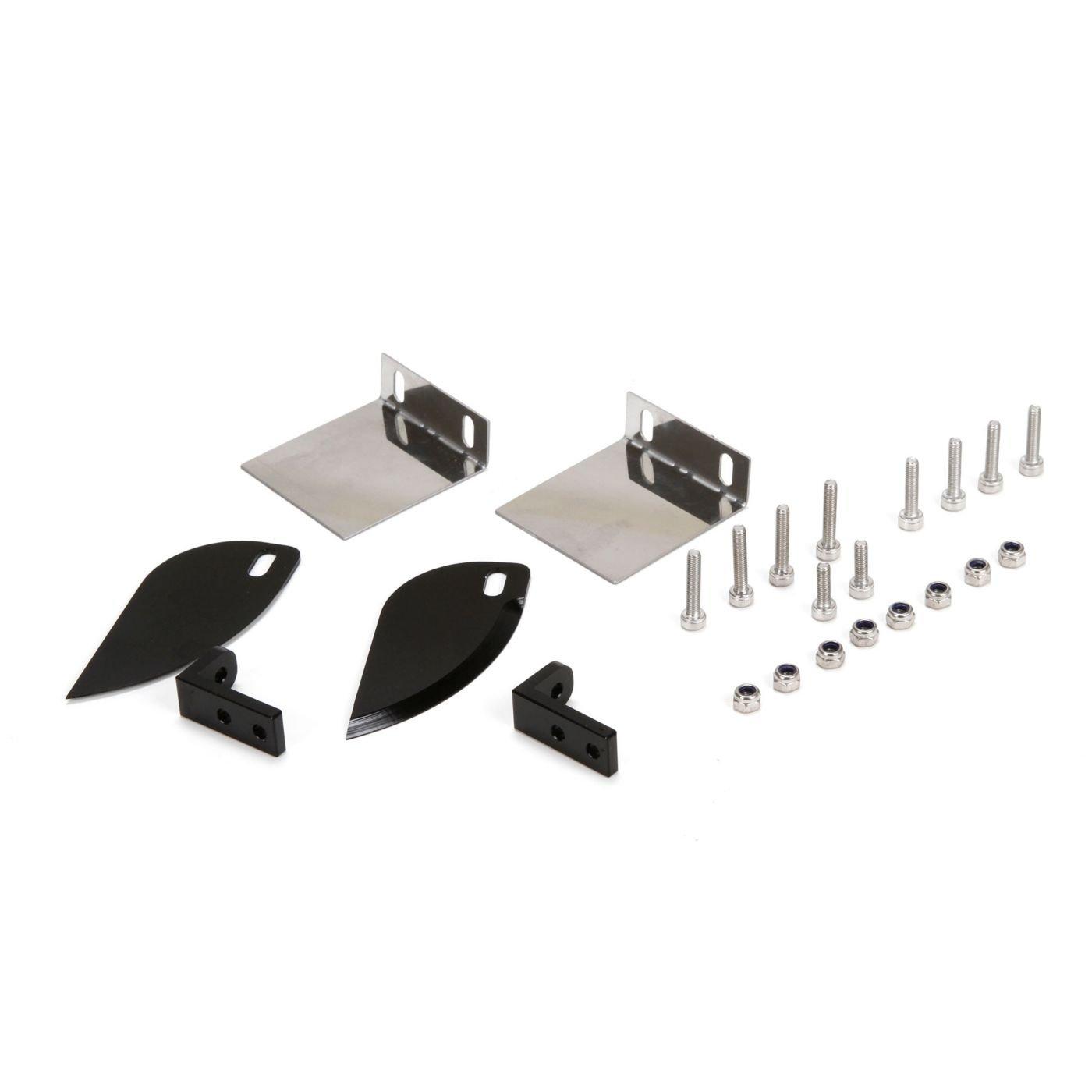 Trim Tabs, Turn Fins, Hardware: Voracity 36-inch