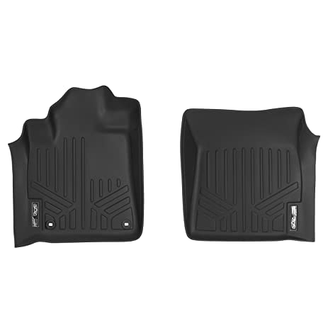 maxfloormat floor mats 1st row set black for 2012 2018 toyota tundra or sequoia