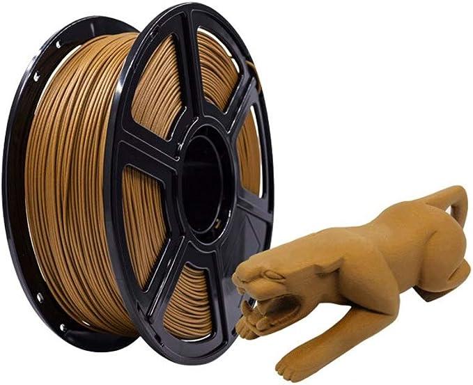 Plástico de Madera filamento de Madera Impresora 3D filamento ...