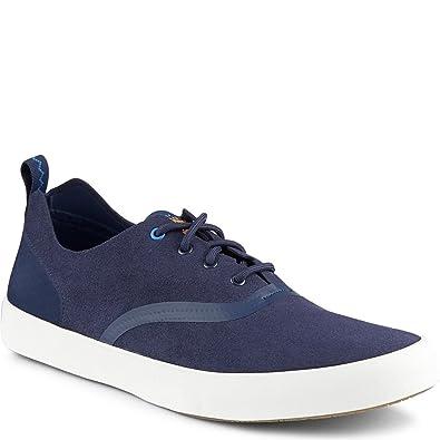 Amazon.com | Paul Sperry Flex Deck CVO Microfiber Sneaker | Fashion Sneakers