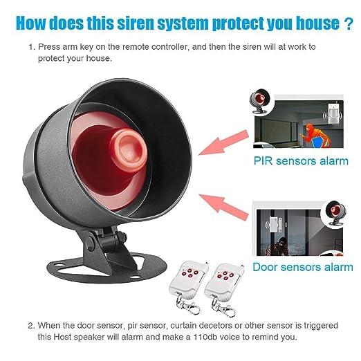 Amazon.com: KERUI Sistema de seguridad para el hogar ...