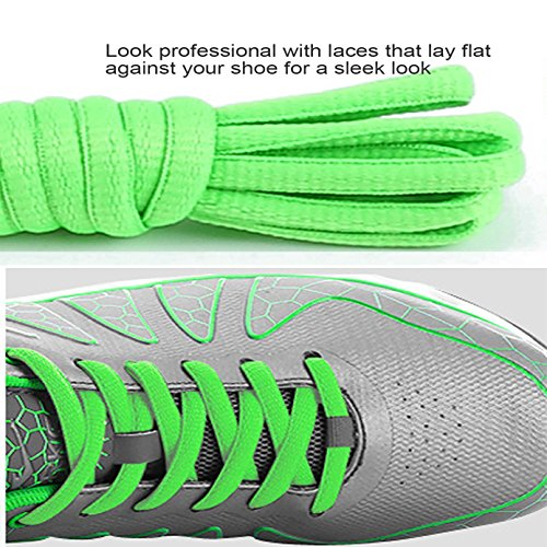 Clothing & Shoe Care Sport FLAT 1Pair Athletic 52 Inch SHOELACES Sneaker Boots Shoe Laces Strings
