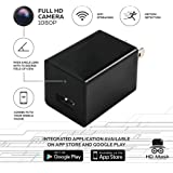 Hidden Camera System HDMask 1080P WiFi Motion Detection - iPhone / Android App - Wireless IP Nanny Spy Cameras for Security - Video Mini USB Surveillance Cam - Remote View and 32GB (No SDCard incl)