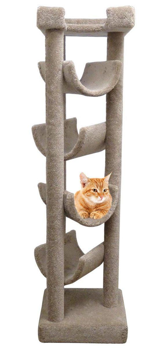Carpeted Cat Trees Uk Floor Matttroy