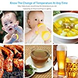 Fitian Waterproof Instant Read Meat Thermometer