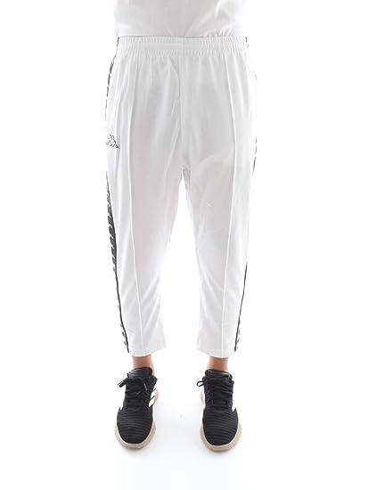 Kappa 3031WR0 Pantalones Hombre Blanco M: Amazon.es: Ropa y accesorios