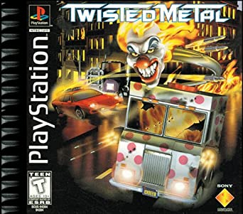 Twisted Metal ps1 box