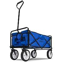 Deuba Carrito de Transporte Multiuso Azul y Negro
