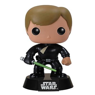 Funko POP Star Wars: Luke Skywalker Jedi Action Figure: Toys & Games