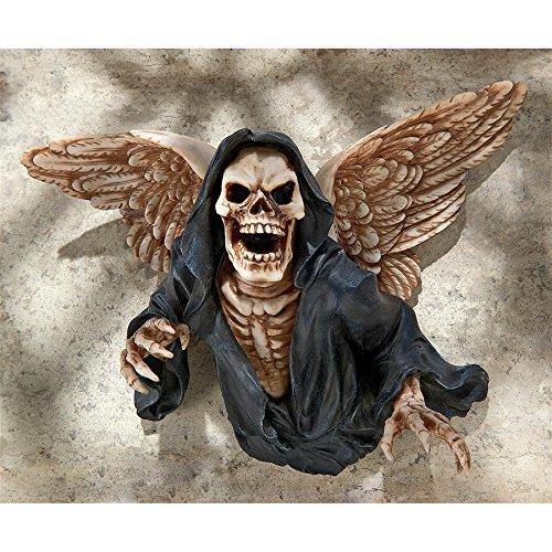Design Toscano Winged Grim Reaper Wall Sculpture