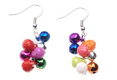 Christmas Bauble Earrings With Complimentary Gift Box Womens Jewellery