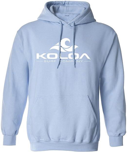 Sudadera con capucha Koloa con logotipo de ola de surf En tallas S - 5XL.: Amazon.es: Libros