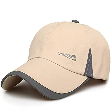 ee265e1bf26 Quick Dry Baseball Cap Printing Adjustable Crooked Wide Brim Hat Sport Cap  for Outdoors Fishing Racing