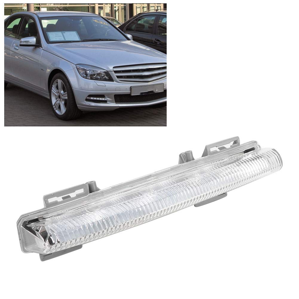 Optional ABS DRL Daylight Light Fit for W204 W212 R172 2049068900 2049069000 Left Right Aramox Car Daylight Lamp Right