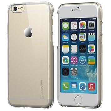 iPhone 6 Case, LUVVITT [cristal] duro Carcasa anti-scratch transparente carcasa para iPhone 6 con pantalla de 4,7 pulgadas – Crystal Clear