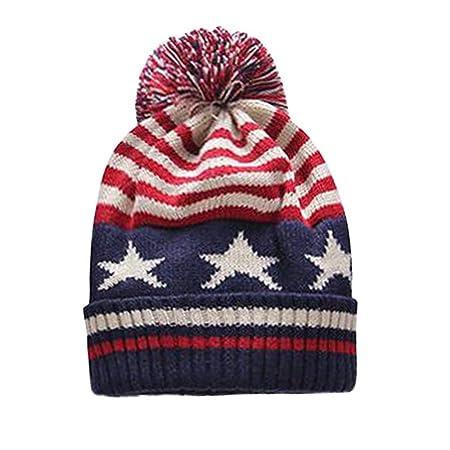 Kleinkind Kinder Mädchen Strickmütze Infant Winter Warm Crochet