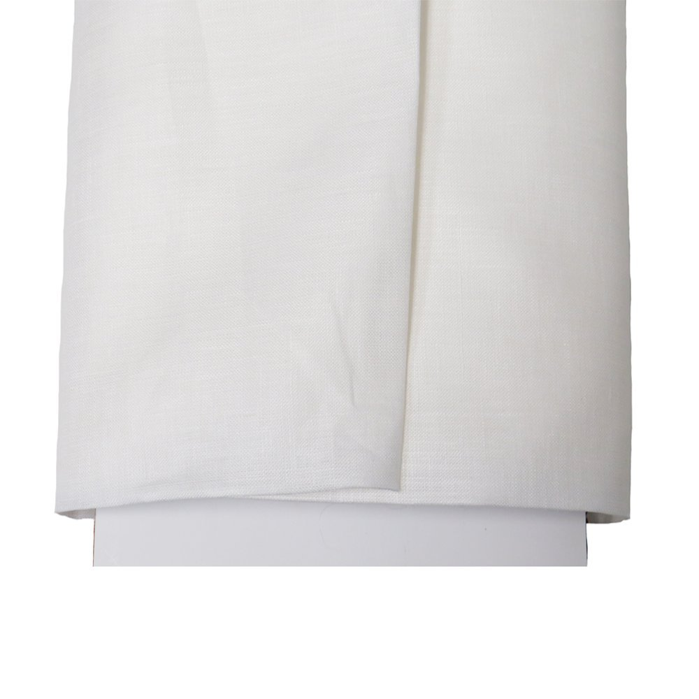 "Irish Handkerchief Linen, Estopilla- 35-36"" Wide, Over 100 Yards in Stock – 100% Irish Handkerchief Linen Fabric – Many Colors Available – White by Burlap Fabric (Image #2)"