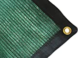 DIR 70% UV Shade Cloth Green Premium Mesh Shadecloth Sunblock Shade Top Quality Panel 20ft x 48ft