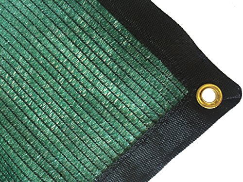 DIR 70% UV Shade Cloth Green Premium Mesh Shadecloth Sunblock Shade Top Quality Panel 20ft x 10ft For Sale