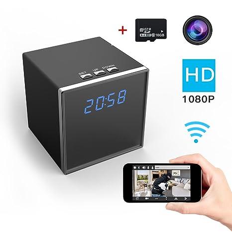 Corprit Telecamera Nascosta HD Senza Filii 1080P Wi-Fi per la ...