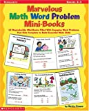Marvelous Math Word-Problem Mini-Books, Betsy Franco, 0439366003