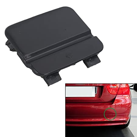 UPSM Rear Bumper Tow Hook Cover Fit for BMW E90 E91 3 Series 09-12 328i 51127202673